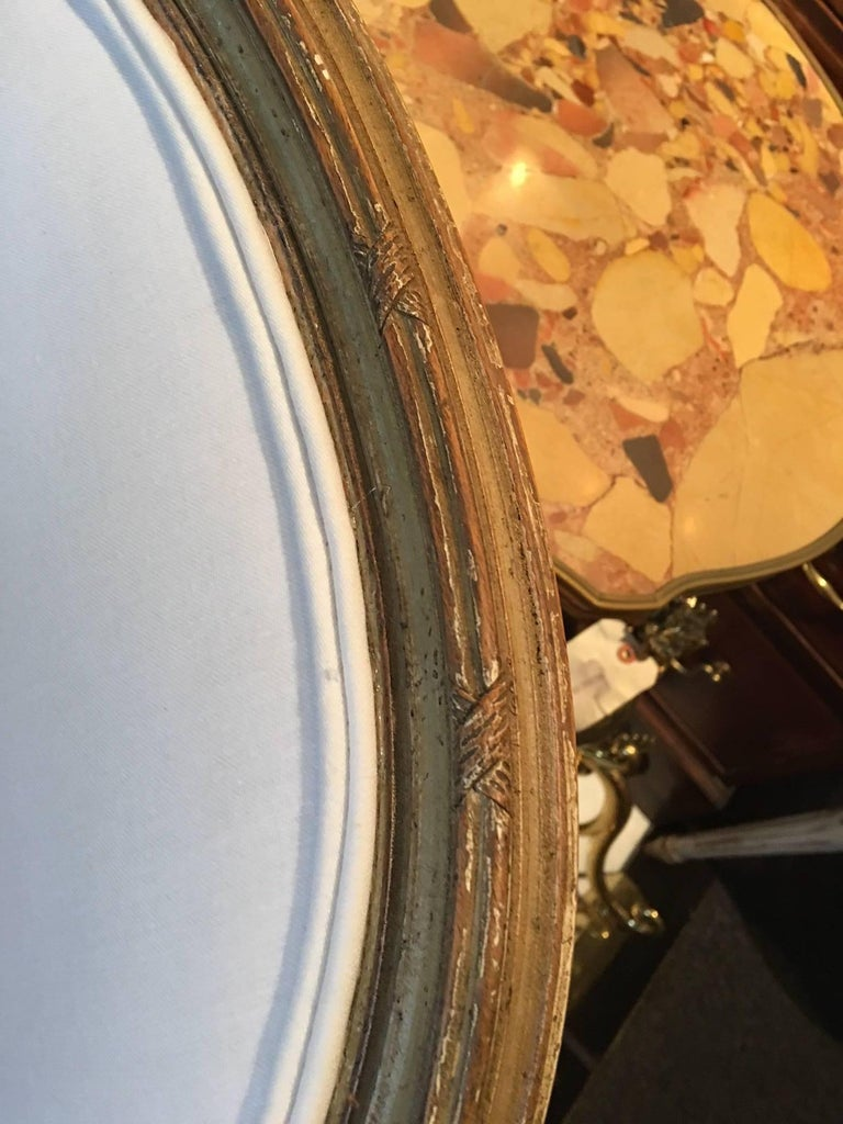 Set of Four Painted Louis XVI Style Dining Chairs, Mid-20th Century For Sale 2