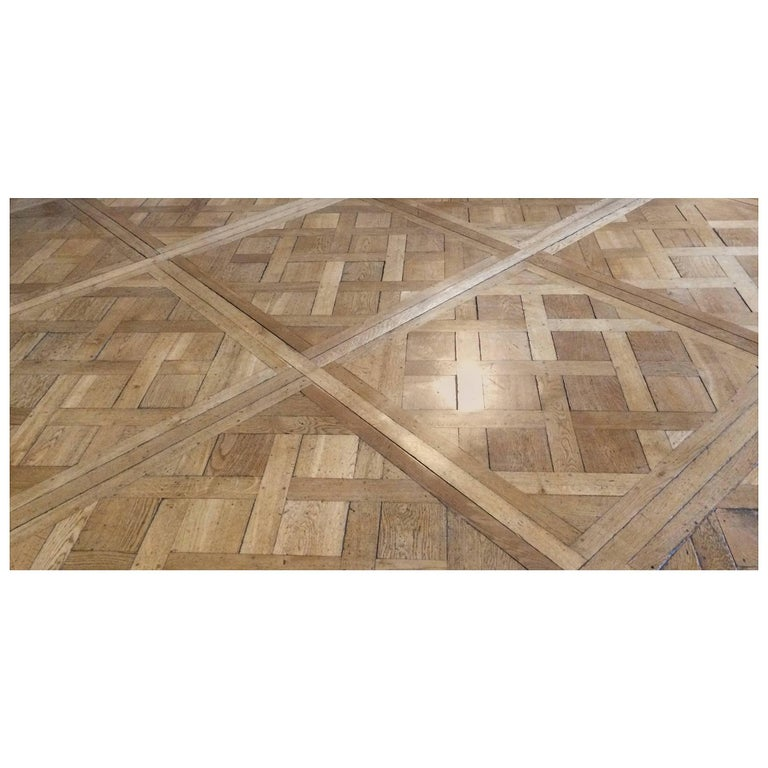 french antique wood oak parquet de versailles flooring original france for sale at 1stdibs. Black Bedroom Furniture Sets. Home Design Ideas