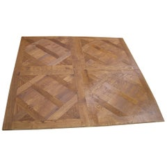 "French Solid Wood Oak Flooring ""Parquet De Versailles"" Handmade, France"