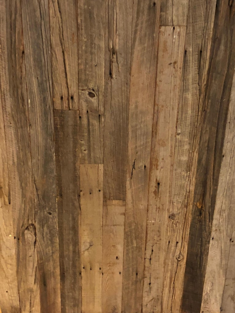 European Reclaimed Antique Solid Wood Oak Flooring 18th-19th Century, France For Sale