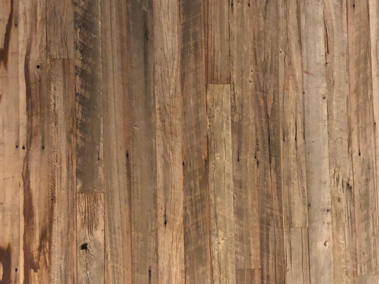 Reclaimed Antique Solid Wood Oak Flooring 18th-19th Century, France In Distressed Condition For Sale In LOS ANGELES, CA