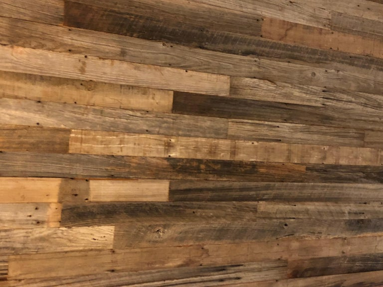 Reclaimed Antique Solid Wood Oak Flooring 18th-19th Century, France For Sale 1