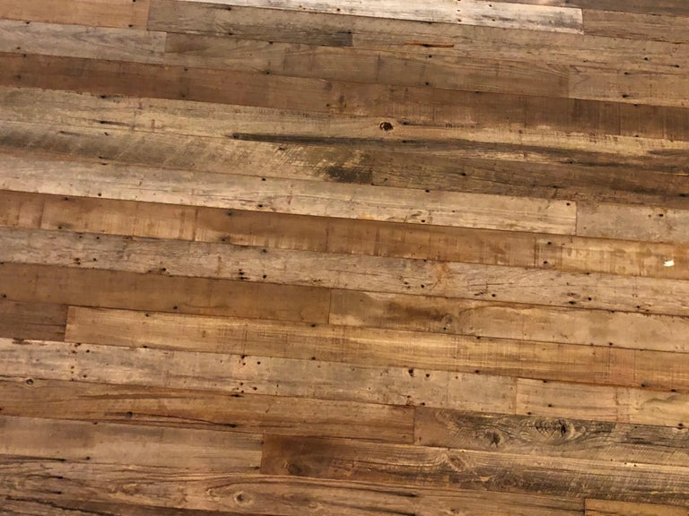 Reclaimed Antique Solid Wood Oak Flooring 18th-19th Century, France For Sale 3