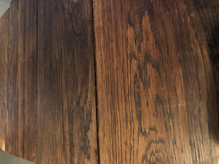European Original French Antique Solid Wood Oak Floors 18th Century, France For Sale