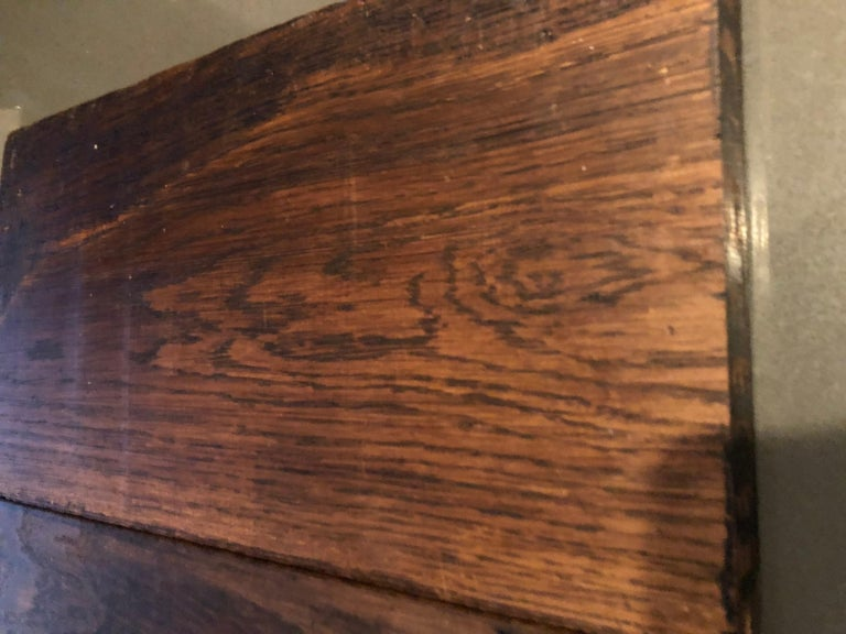 Original French Antique Solid Wood Oak Floors 18th Century, France For Sale 6