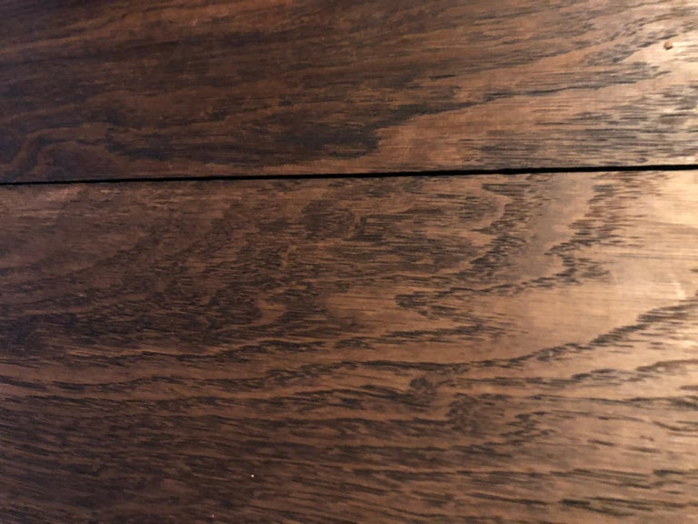 Original French Antique Solid Wood Oak Floors 18th Century, France For Sale 10