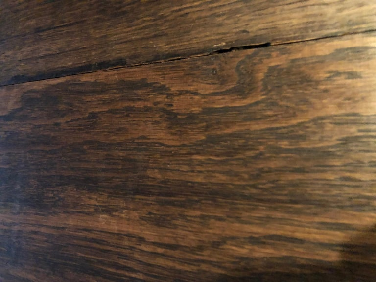Original French Antique Solid Wood Oak Floors 18th Century, France For Sale 11
