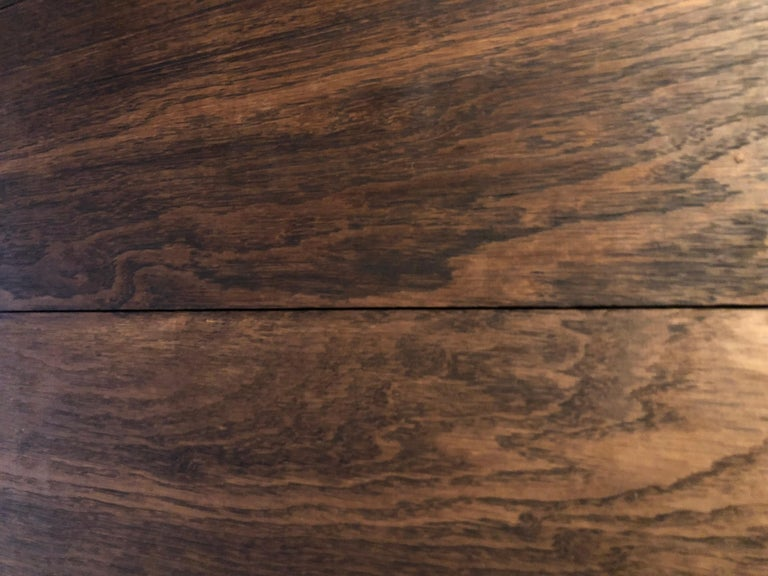 Original French Antique Solid Wood Oak Floors 18th Century, France For Sale 12
