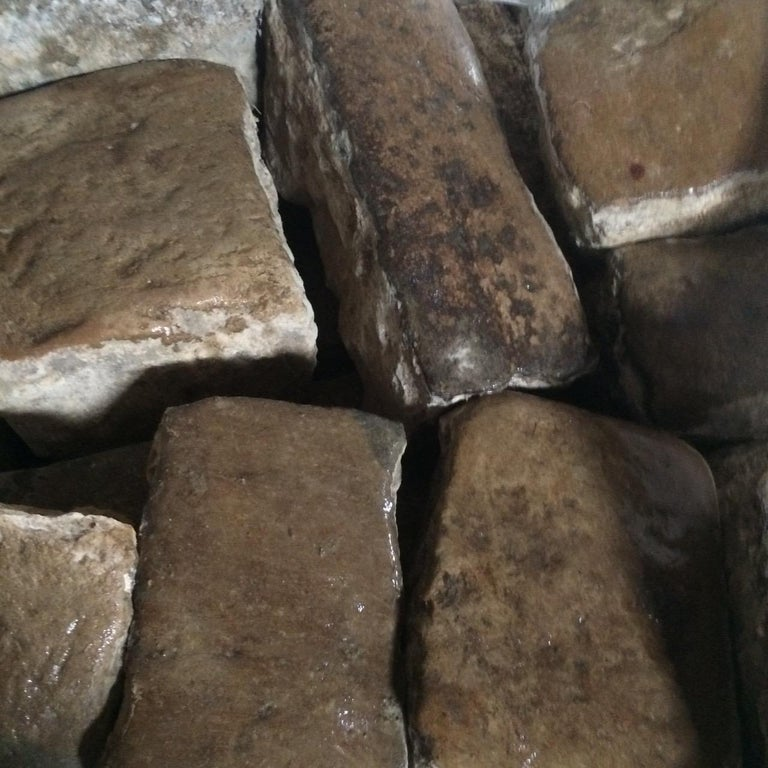 Authentic French Antique Cobble Stone from France, 17th Century For Sale 10