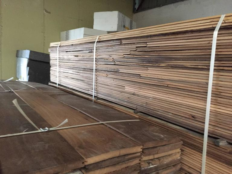 French Antique Oak 17th-19th Century Solid Wood Flooring, Original, France For Sale 1