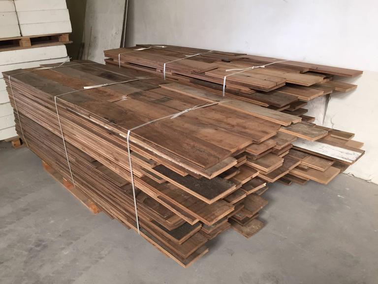Authentic original french antique wood oak floors 17th for 100 floors 17th floor