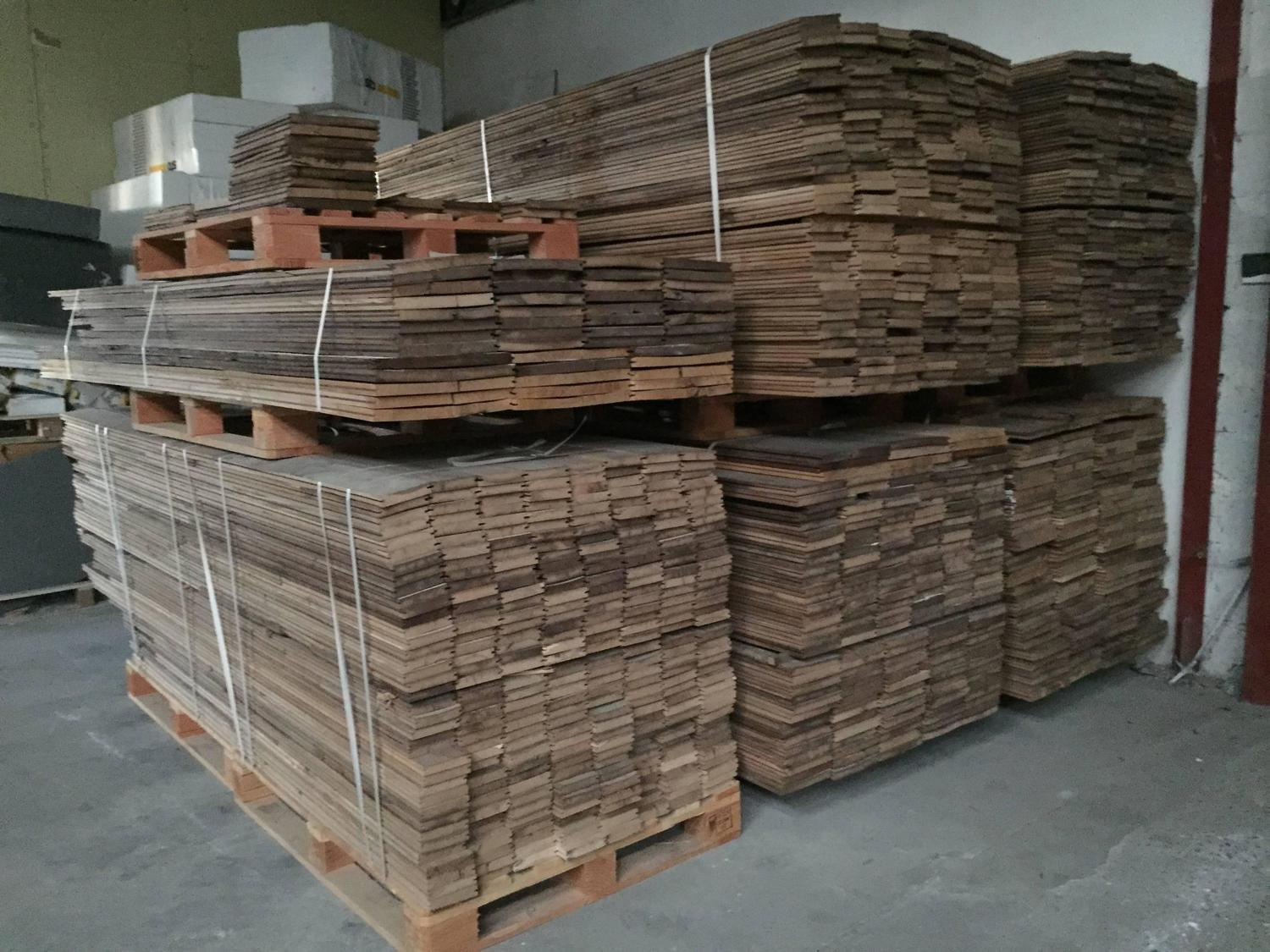 French Reclaimed Wood Oak Floors 17th 19th Century France