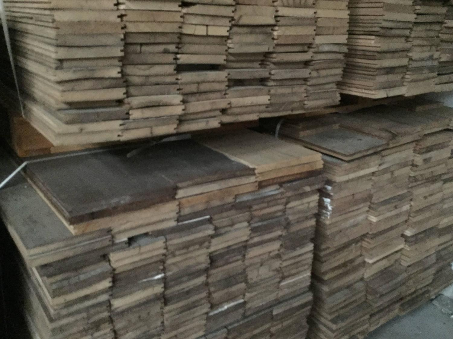 Authentic and original french antique wood oak floor 17th for 100 floors 17th floor