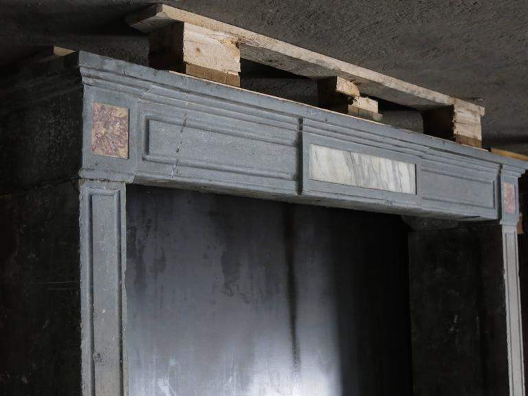 Original Classic Contemporary Style Fireplace Early 1800s