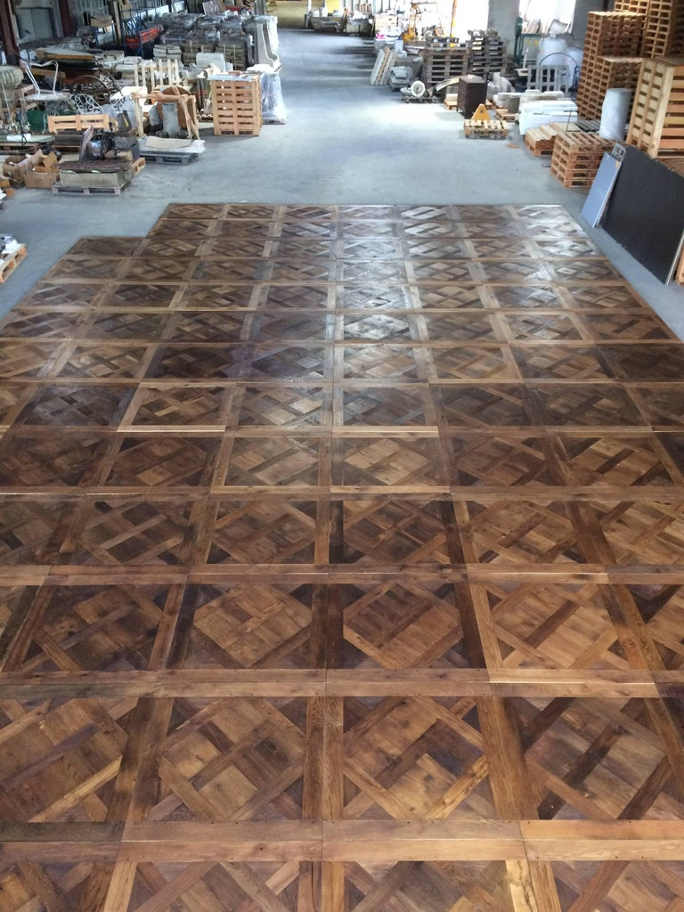 french solid wood oak parquet versailles 39 wood 17th 19th century 39 france for sale at 1stdibs. Black Bedroom Furniture Sets. Home Design Ideas