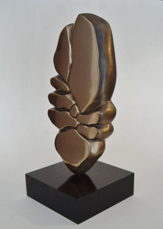 Gilt Bronze Sculpture by Minoru Kano (1930-2007) 2