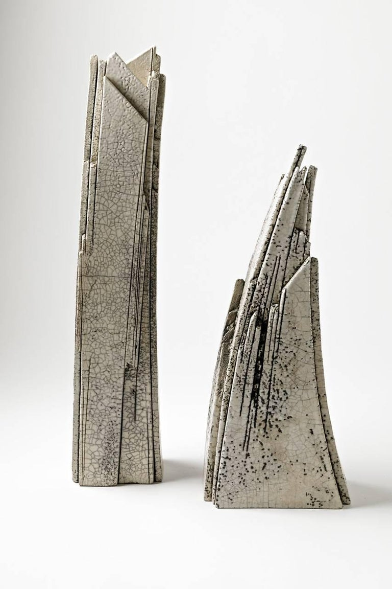 Important Ceramic Sculpture by Veronique Grandjacques, circa 1980 For Sale 1