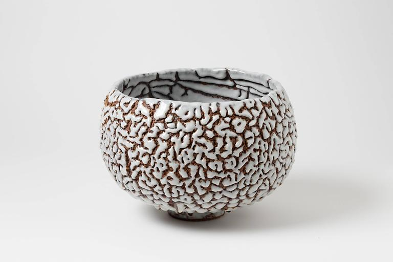 Beaux Arts Contemporary Ceramic Cup by Rozenn Bigot For Sale