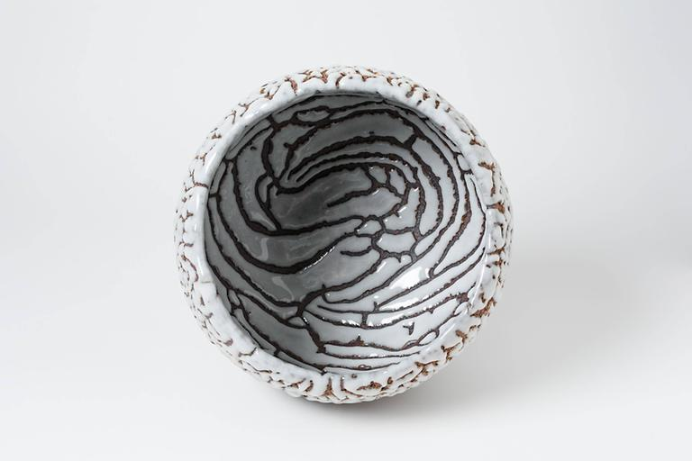Contemporary Ceramic Cup by Rozenn Bigot For Sale 1