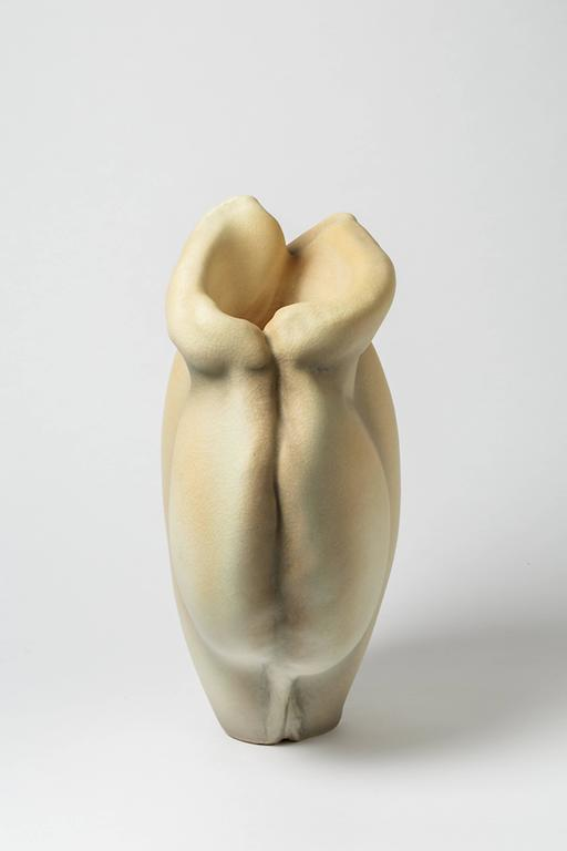 French Porcelain Sculpture by Wayne Fischer, circa 2016 For Sale