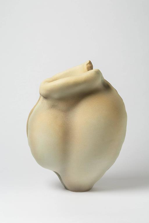 Molded Porcelain Sculpture by Wayne Fischer, circa 2016 For Sale