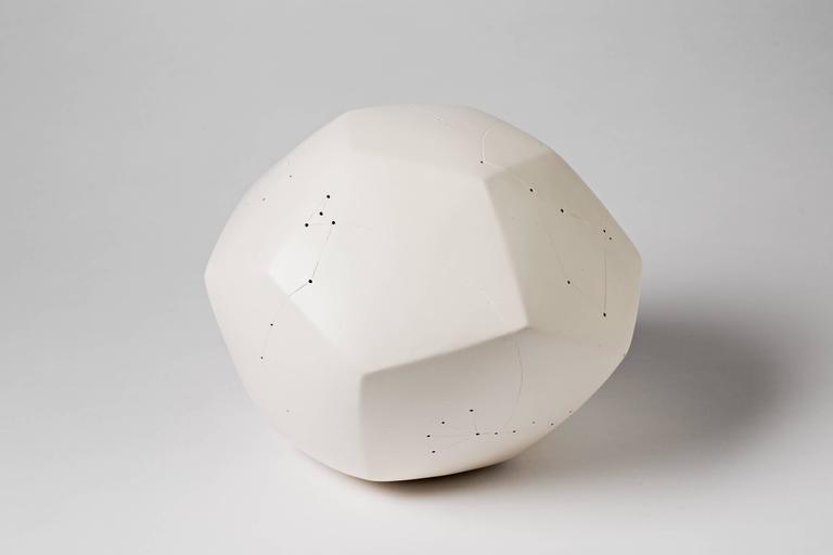 An elegant ceramic sculpture