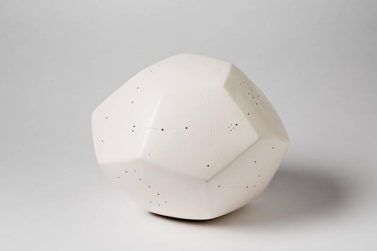 Beaux Arts Elegant Ceramic Sculpture