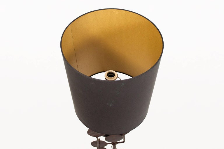 Very Large Sculptural Table Lamp by Giovanni Banci, circa 1970, Italy For Sale 1