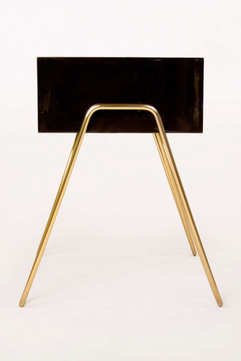 Lacquered Pair of Bedside Tables by Adolfo Abejon, circa 2000s, Spain