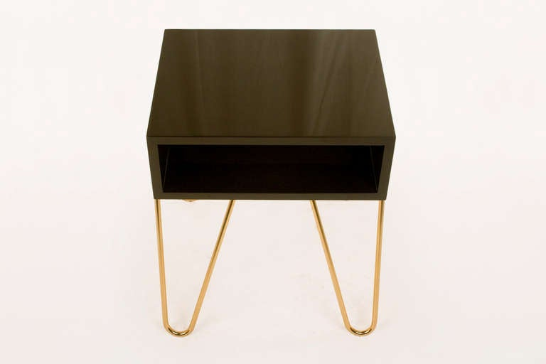 Pair of Bedside Tables by Adolfo Abejon, circa 2000s, Spain In Excellent Condition In Girona, Spain