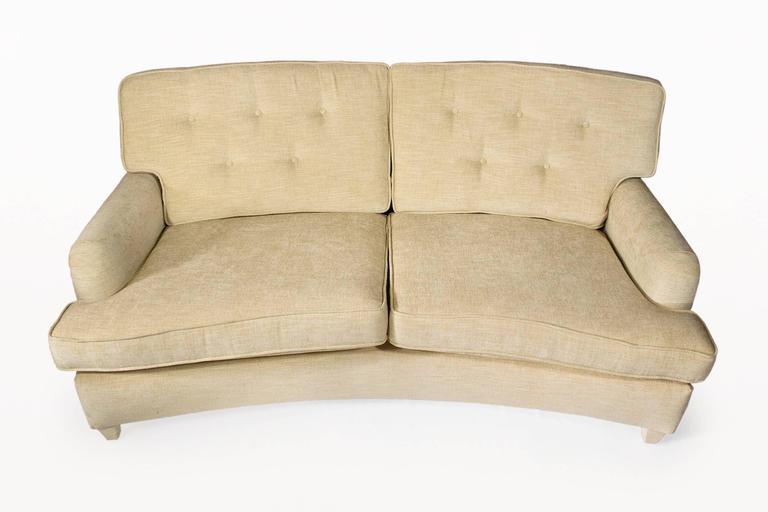 Jean-Michel Frank Two-Seat Sofa, circa 1930, France 6