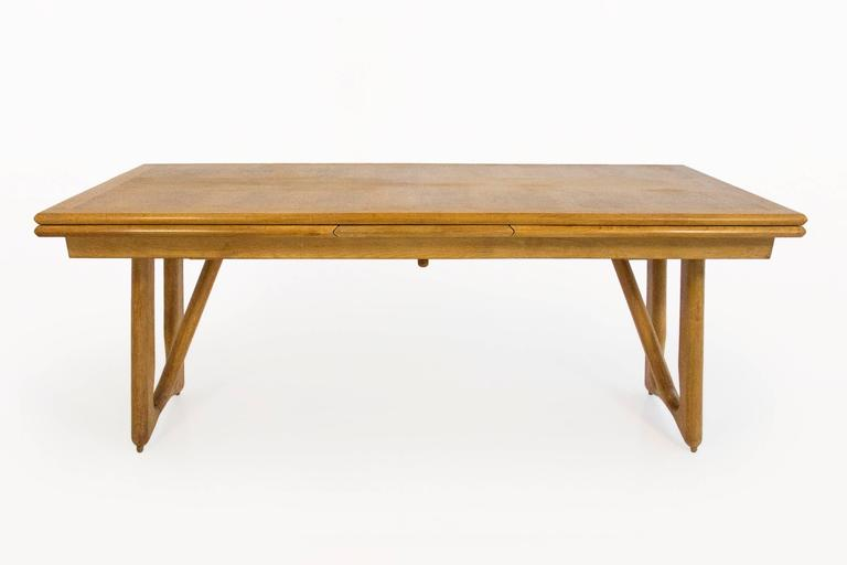 Guillerme et Chambron Oak Leaf Extension Dining Table  : TA0042aLl from www.1stdibs.com size 768 x 512 jpeg 16kB