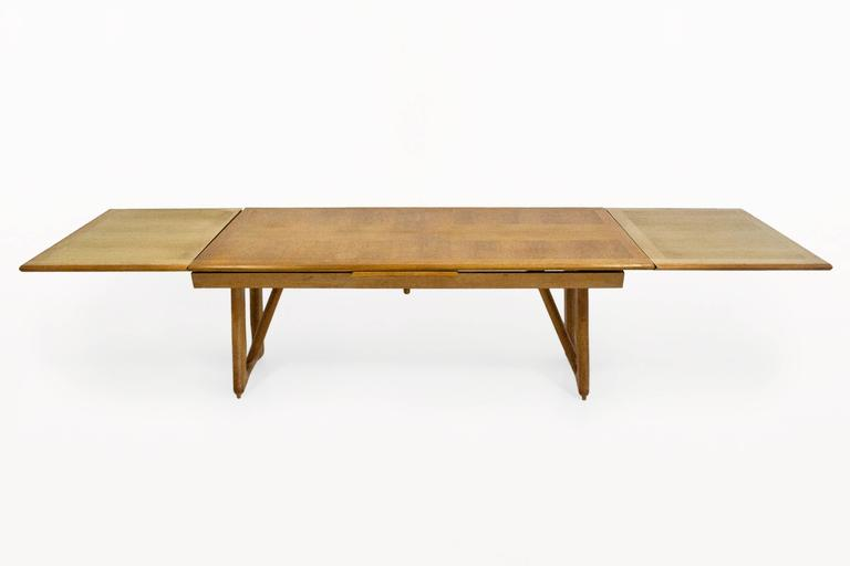 Guillerme et Chambron Oak Leaf Extension Dining Table  : TA0042eLl from www.1stdibs.com size 768 x 512 jpeg 11kB