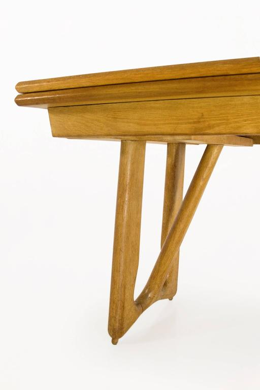 Guillerme et Chambron Oak Leaf Extension Dining Table  : TA0042gLl from www.1stdibs.com size 512 x 768 jpeg 22kB