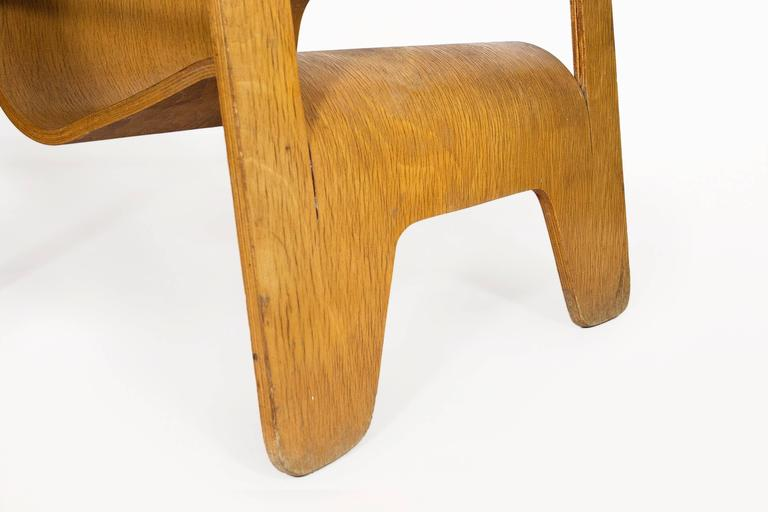 Lounge Chair by Han Pieck for Lawo Ommen, circa 1940, Netherlands In Good Condition For Sale In Girona, Spain