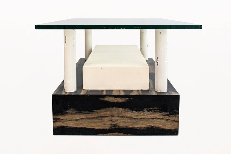 Mid-Century Modern Memphis Milano Coffee Table by Ettore Sottsass, circa 1980, Italy For Sale