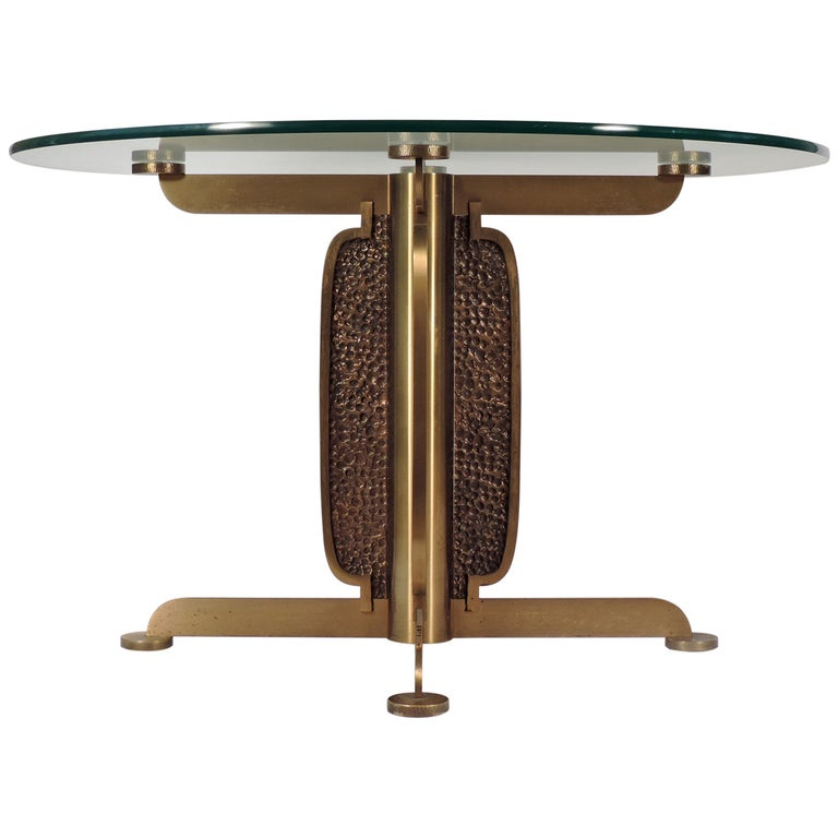 Spectacular Luciano Frigerio Brutalist Dining Table