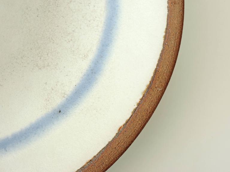 Italian Nanni Valentini Large Ceramic Wall Plate for Ceramica Arcore, Italy 1960s For Sale