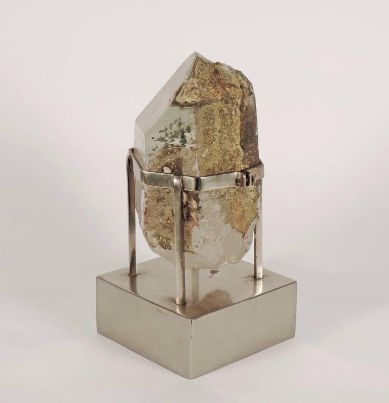 Unique Carla Venosta, 1970s Rock Crystal Table Sculpture In Good Condition For Sale In Milan, IT