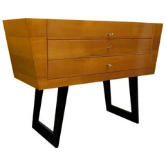 Midcentury Cherrywood Italian Chest of Drawers, 1950