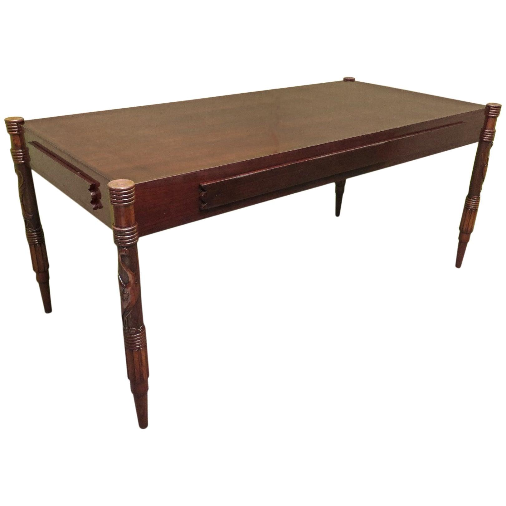 Colli Pier Luigi Ashwood Italian Midcentury Dining Room Table, 1950