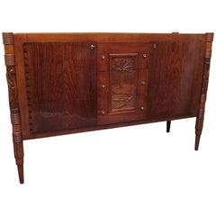 Colli Pier Luigi Ash Wood Italian Midcentury Sideboards, 1950