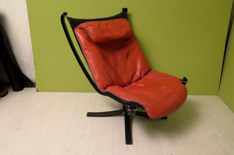 Viking by Frau Norway Armchairs, 1970 For Sale 2