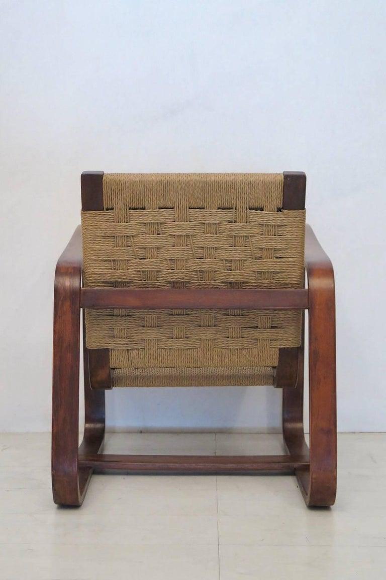 Giuseppe Pagano Pogatschnig e Gino Maggioni 1939-1941 Italian Armchairs For Sale 1
