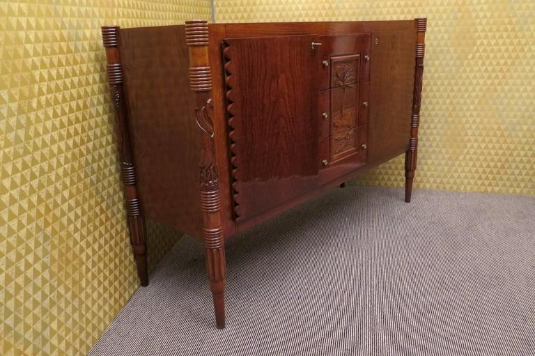 Mid-20th Century Beautiful Sideboard by Pier Luigi Colli For Sale