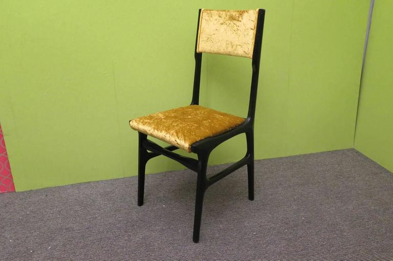Set of Six Chairs by Carlo de Carli For Sale 1