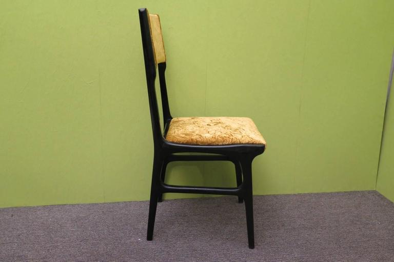 Mid-20th Century Set of Six Chairs by Carlo de Carli For Sale