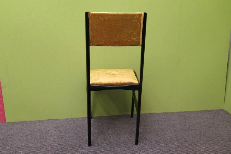Mid-Century Modern Set of Six Chairs by Carlo de Carli For Sale
