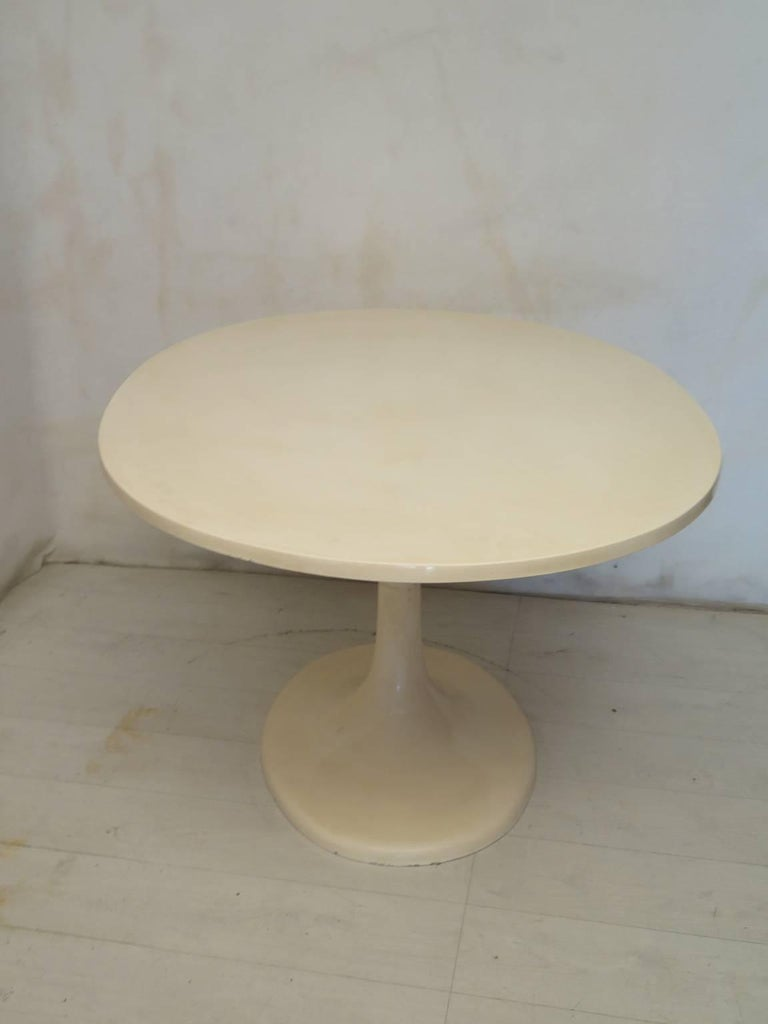 Late 20th Century Tulip Oval Table, 1970 For Sale