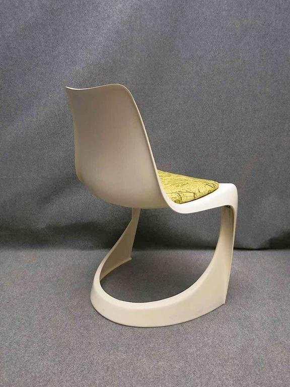 Plastic Two Chairs Ostergaard Steen For Sale